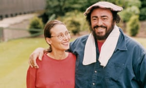 Luciano Pavarotti, pictured with  his wife Nicoletta in 2006.