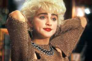 1987: A still from Who's That Girl?