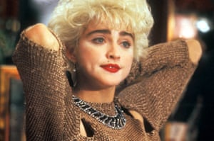 Madonna in the 1987 romcom Who's That Girl.