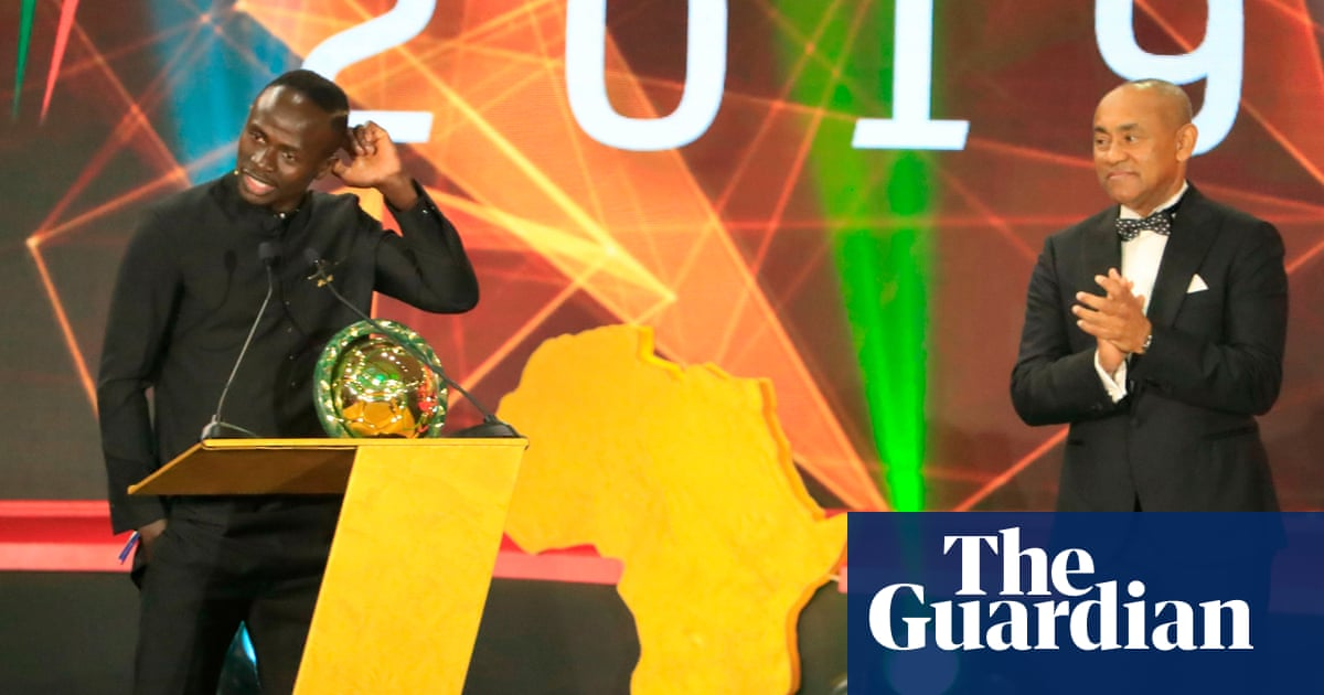 Liverpool's Sadio Mané named African Footballer of the Year for first time