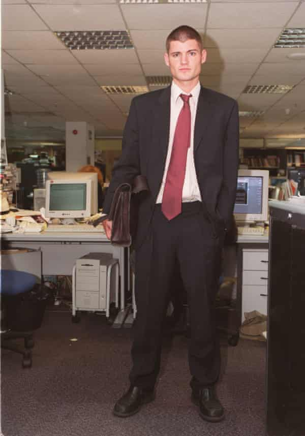 Tom Templeton during his time as an editor at Observer magazine.