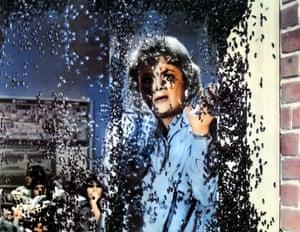 Olivia de Havilland in science fiction horror The Swarm