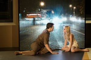 Michael C Hall and Sophia Anne Caruso in Lazarus at the New York Theatre Workshop.