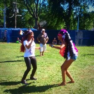 Dancing in Halifax NS Pride 2016