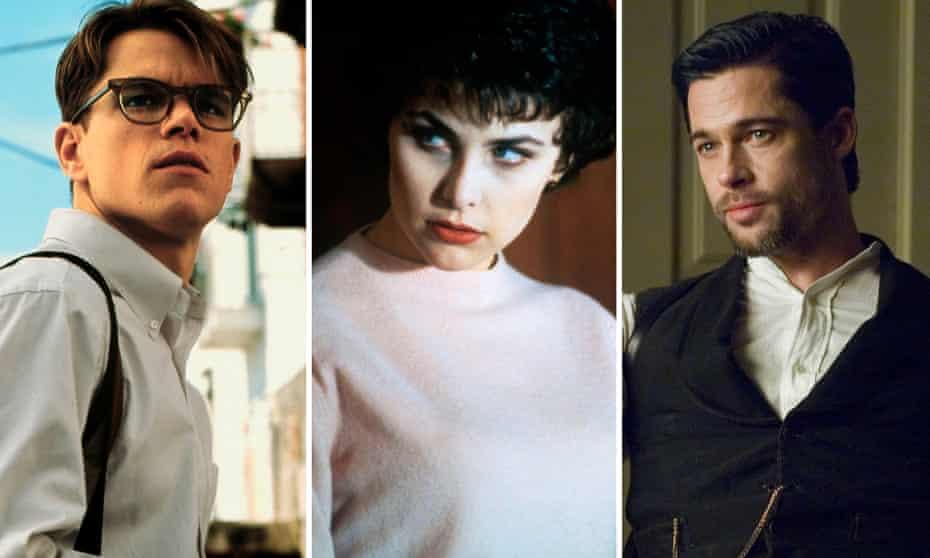 Matt Damon, Sherilynn Fenn and Brad Pitt