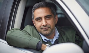 Taxi driver Shakil Hussain