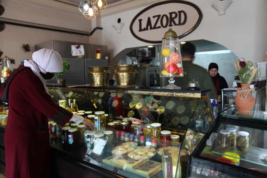 Lubna Helli at her Lazord store