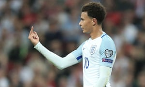 best website 323e2 39cb2 Dele Alli banned by Fifa for one match over one-finger ...