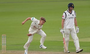 All to play for: Dominic Sibley and Sam Curran.