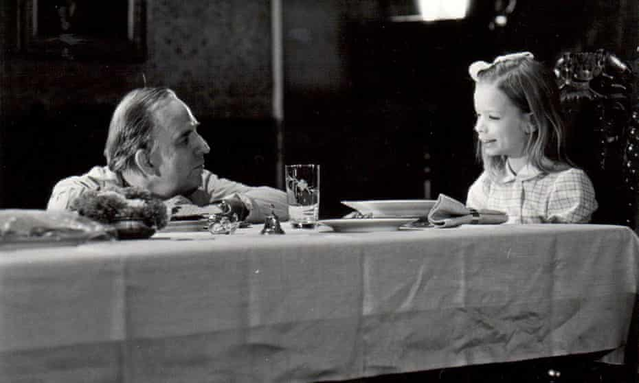 Collaboration ... Ingmar Bergman with his daughter Linn during the filming of Autumn Sonata (1978).