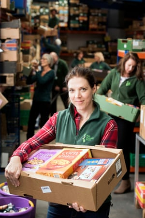Trussell Trust food bank charity