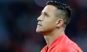 Manchester United forward Alexis Sánchez.