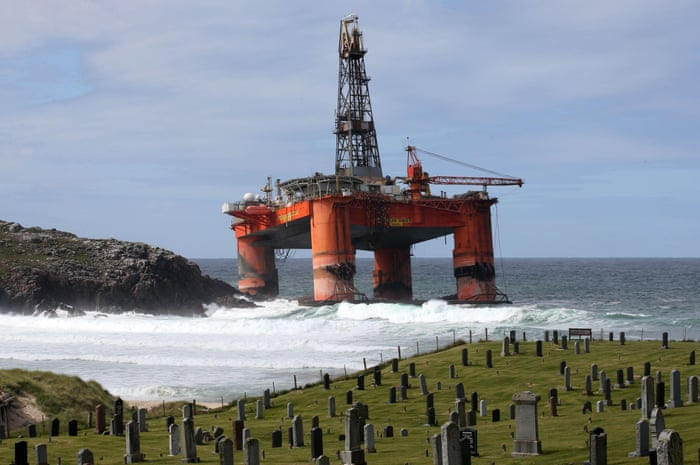 where oil rigs go to die business the guardian