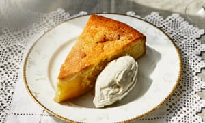 Olive oil cake. Taken from Venice by Russell Norman. 20 best easy puddings.