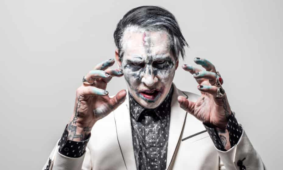 Marilyn Manson … 'I wake up in the morning and I just realise that I am chaos.'