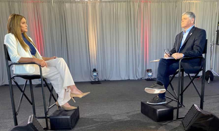 Sean Hannity interviews Caitlyn Jenner.