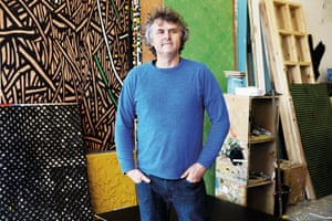 'Inspired by his parents' garish 1970s home': Richard Woods.