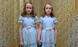 The twins from The Shining