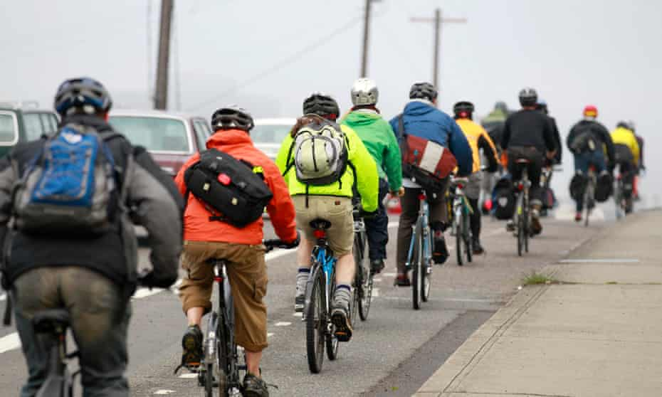 Portland has a cycle modal share of 7.2% and over 319 miles of bike lanes.