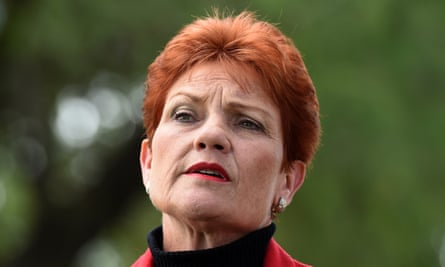 Pauline Hanson in Brisbane on Monday. Her supporters love her grit and plain speaking, and mostly they love that she listens.