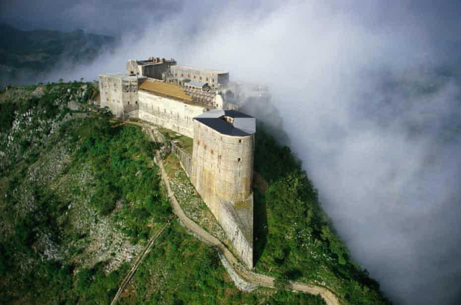 The Citadelle Laferrière in Haiti, built by the former slave and revolutionary leader Henri Christophe.