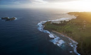 The historic Kingston area of Norfolk Island, including the cemetery, convict ruins, government buildings and the surrounding beaches of Emily Bay and Cemetery Beach