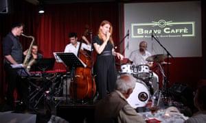 Jazz at Bravo Caffe.