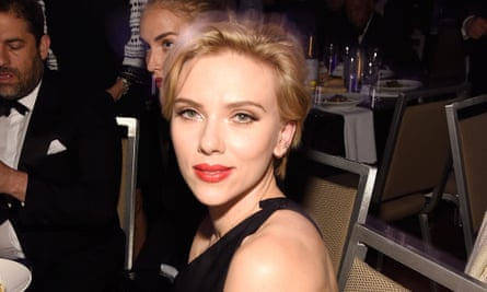Smouldering all the way to the bank: Scarlett Johansson in New York