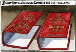 Steve Bell cartoon 27/11/2015