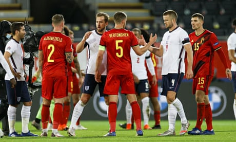 Belgium 2-0 England: Nations League – as it happened