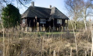 The Rothschild bungalow at Woodwalton Fen.