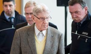 Reinhold Hanning in court in Detmold