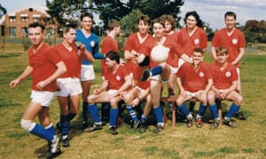 The mighty Miranda Croatia of the Southern Sydney Churches League. Their record loss was 19-0. Andrew Howe is fourth from the right, back row.