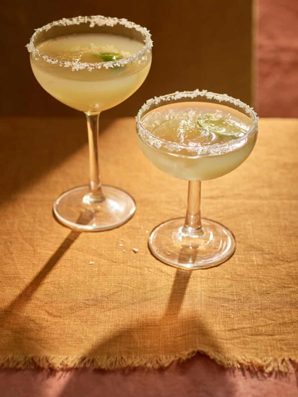 Anna Jones' lemongrass and ginger margaritas
