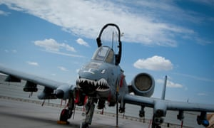 The A-10 Warthog ground attack aircraft