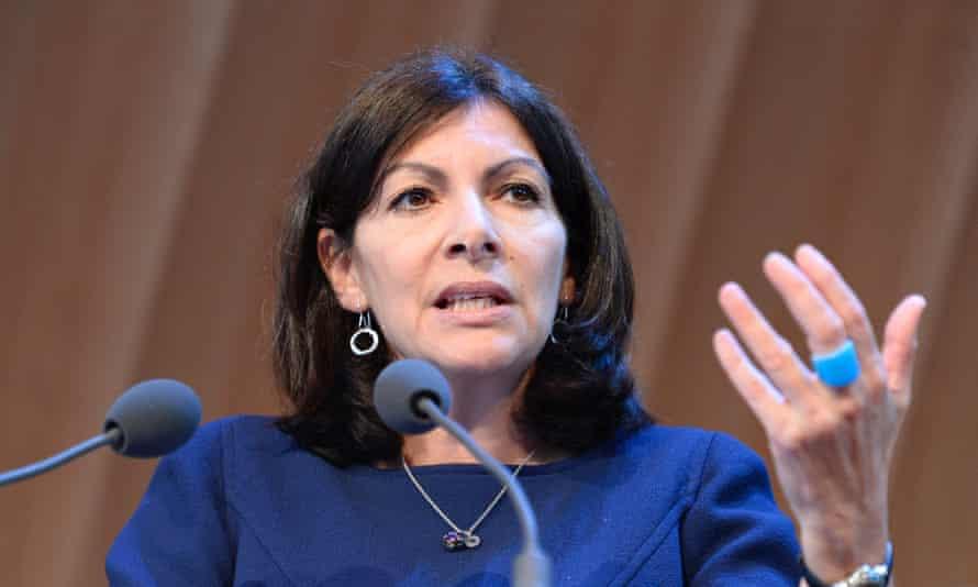 Mayor of Paris Anne Hidalgo.