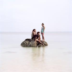 Francisca, Eva & Lyn, Million Dollar Point, Espiritu Santo by Jon Tonks