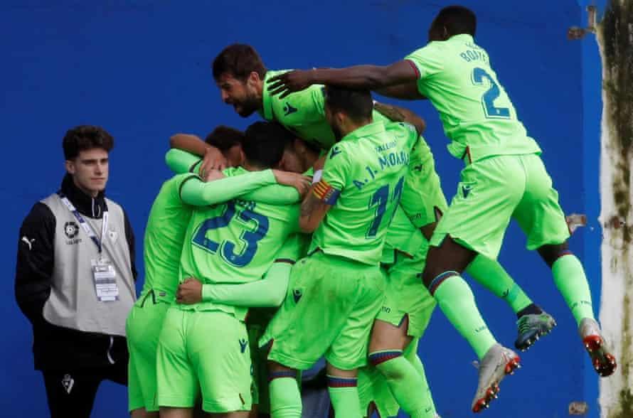 Last-minute joy for Levante.