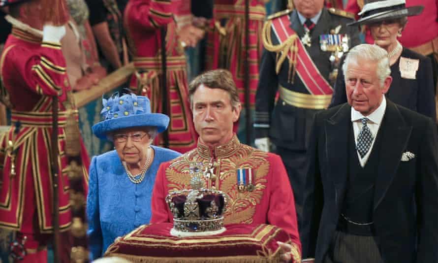 Queen's speech in parliament