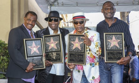 Robert 'Kool' Bell, Dennis 'DT' Thomas, Ronald 'Khalis' Bell and George Brown. Bell died Wednesday.