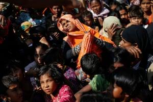 Cox's Bazar, Bangladesh Rohingya refugees