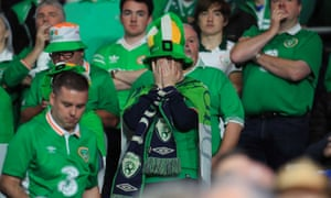 It's not been pleasant viewing for the Republic of Ireland fans.