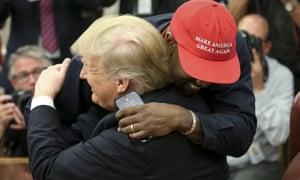 Kanye West Maga Donald Trump