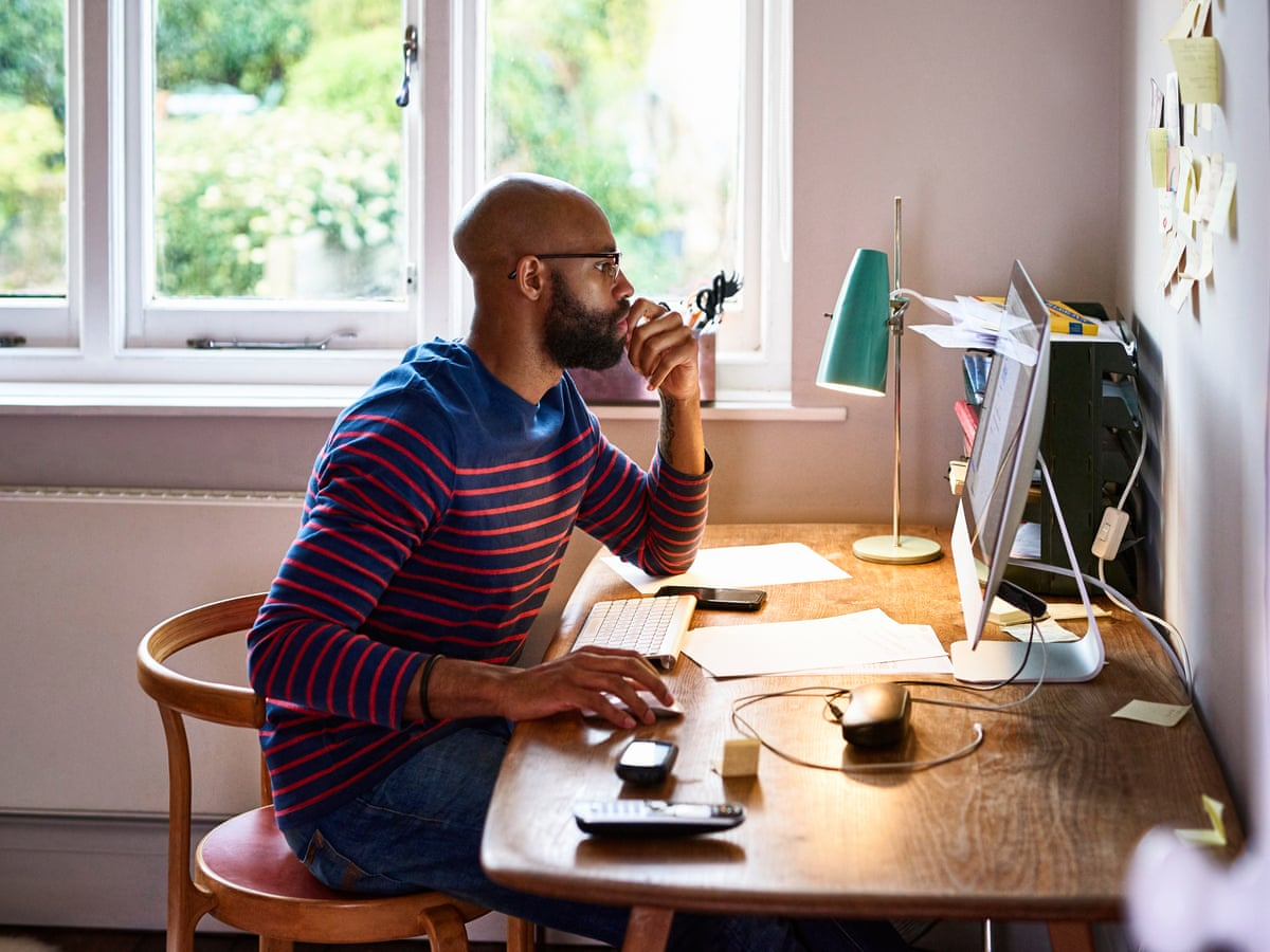 Extreme loneliness or the perfect balance? How to work from home and stay  healthy | Health & wellbeing | The Guardian