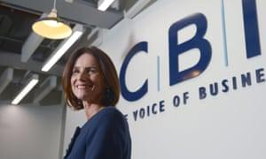 CBI's director-general Carolyn Fairbairn