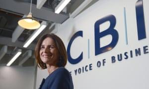New CBI Director-General Carolyn Fairbairn.