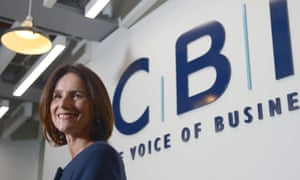 Carolyn Fairbairn, the CBI's director general