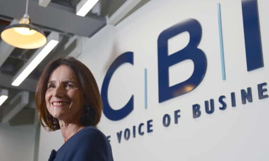 Carolyn Fairbairn, the CBI's director general