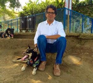 Edgar Mora, mayor of Curridabat, San Jose.