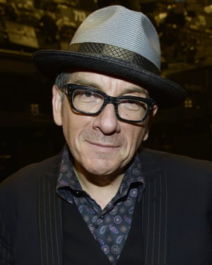 Elvis Costello was inspired by the descending piano chords for Oliver's Army.
